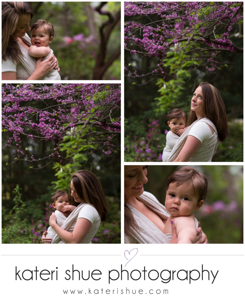 Belle Isle Babywearing Photography Session