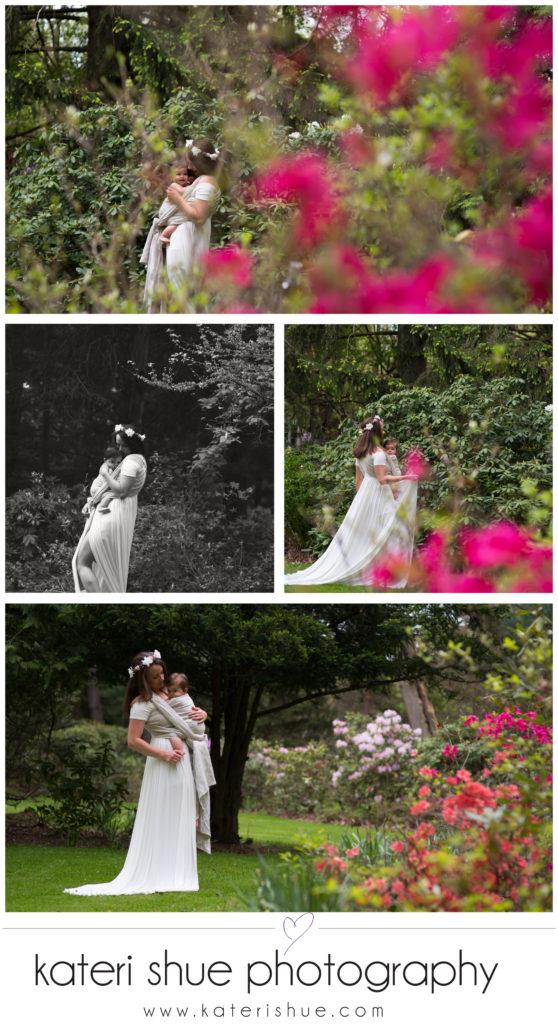 macomb babywearing photographer garden belle isle