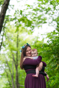 Babywearing Session Yates - Rochester Hills