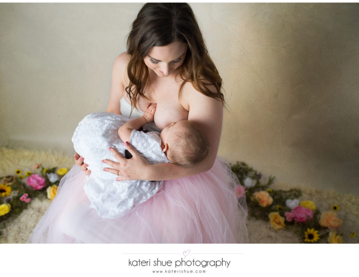 Amanda & Evie - Breastfeeding Session - Michigan Motherhood Photographer